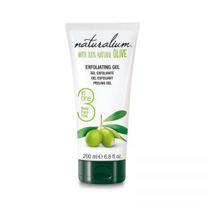 5.Gel exfoliant cu extract de masline 100% natural 200 ml